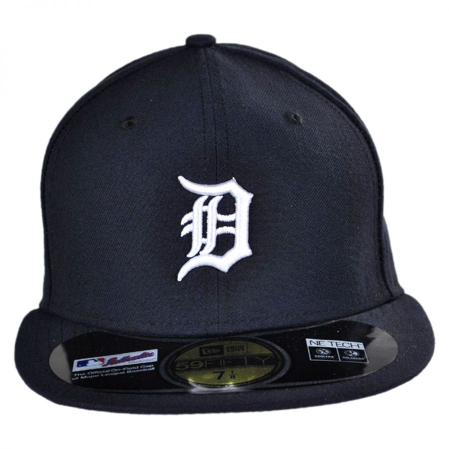 1cb9d136b68 New Era Detroit Tigers MLB Home 59Fifty Fitted Baseball Cap MLB ...