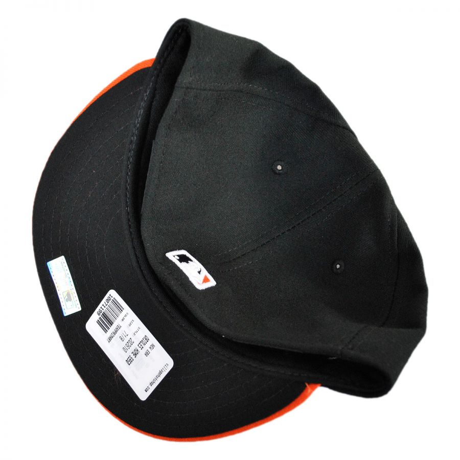 6c2400f5119 New Era Baltimore Orioles MLB Home 59Fifty Fitted Baseball Cap MLB ...