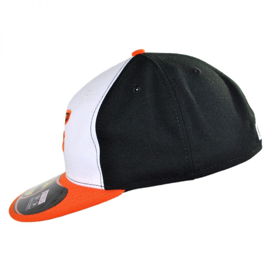 New era baltimore orioles mlb home fifty fitted baseball