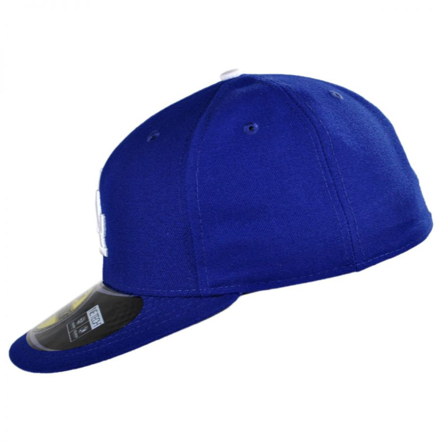 how to fix the crown of a fitted hat