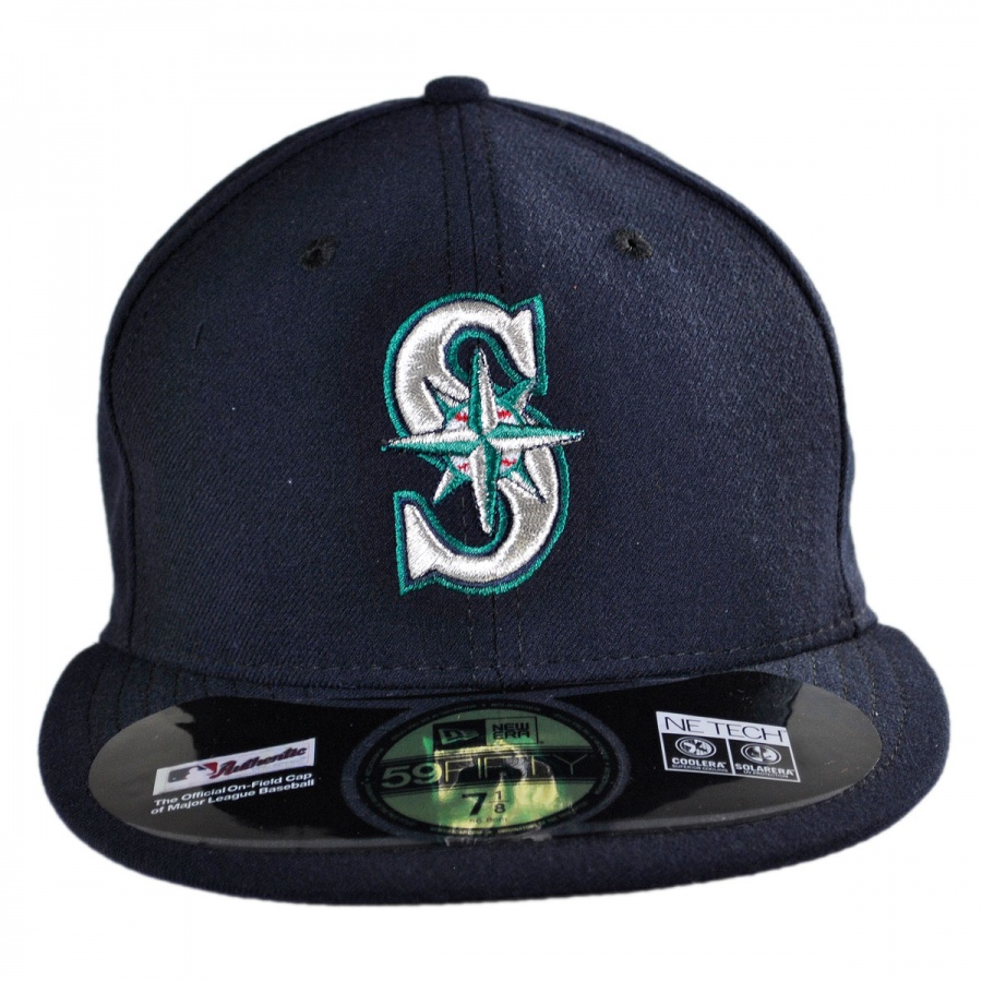 New Era Seattle Mariners MLB Game 59Fifty Fitted Baseball ...