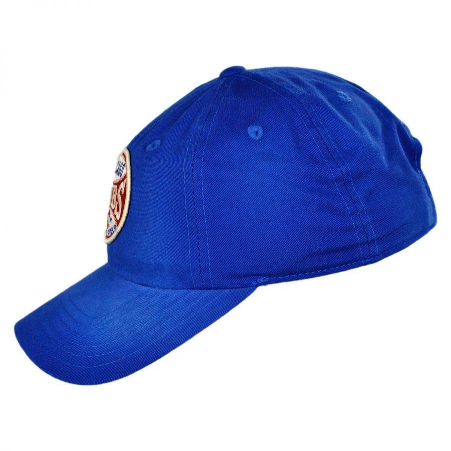 chicago cubs mlb rebound strapback baseball cap