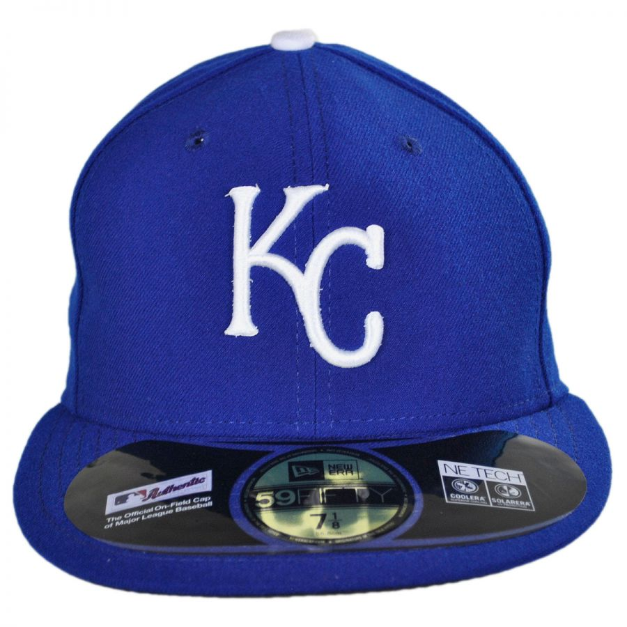 new product 28996 2b8cb Kansas City Royals MLB Game 59Fifty Fitted Baseball Cap in
