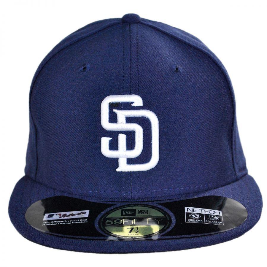 New Era San Diego Padres MLB Home 59Fifty Fitted Baseball Cap MLB ... f0155abeb