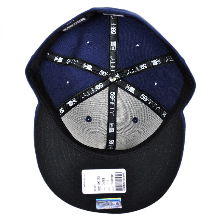 New Era San Diego Padres MLB Home 59Fifty Fitted Baseball Cap MLB ... a1a3e8432c6