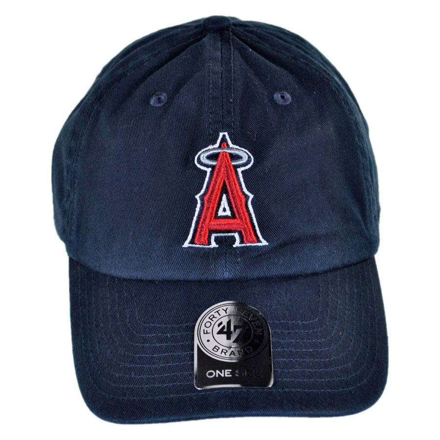 new arrivals 724dc 0d8a8 Los Angeles Angels of Anaheim MLB Home Clean Up Strapback Baseball Cap Dad  Hat in