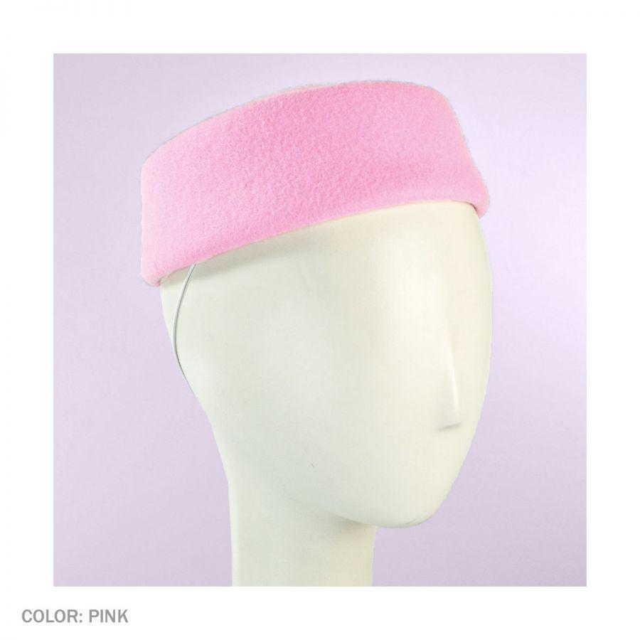 sur la tete Posey Wool Felt Pillbox Hat Pillbox Hats 55c6fb7a01e