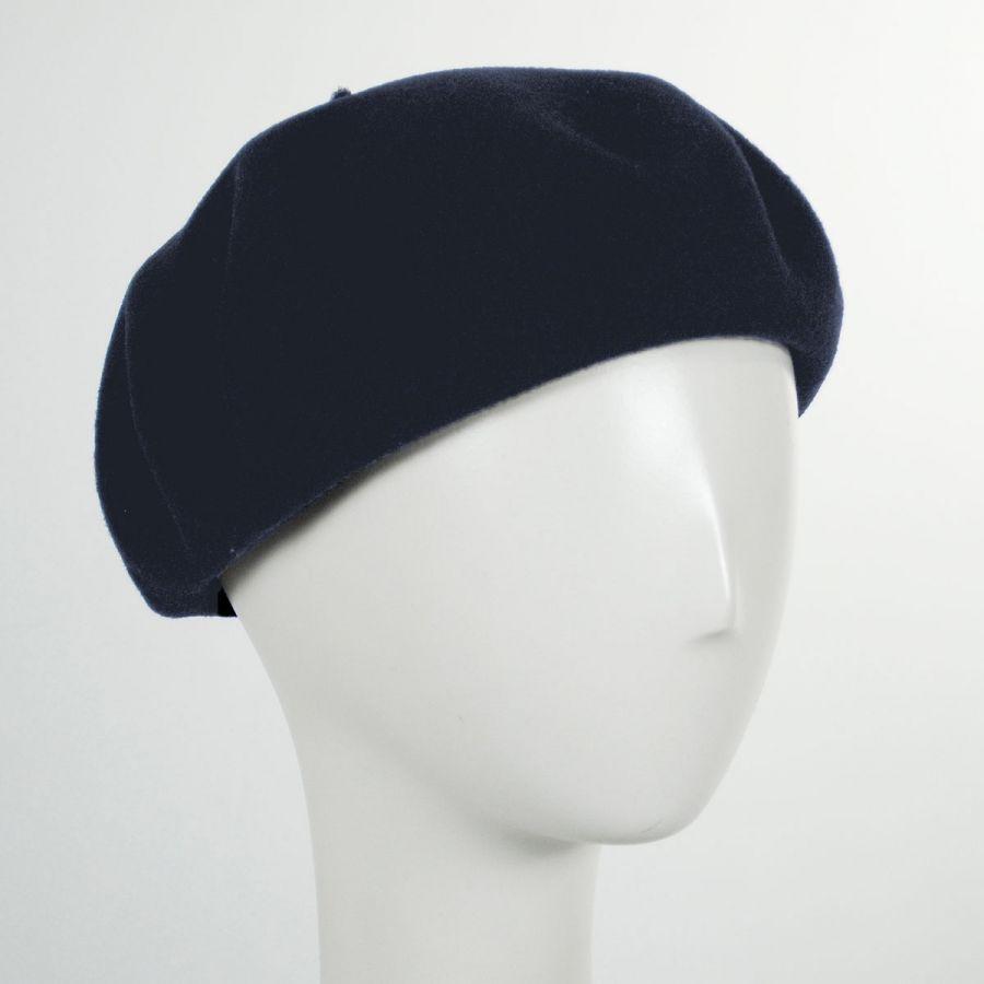82c1bd4b27c Jaxon Hats Wool Basque Beret by Héritage par Laulhère Berets