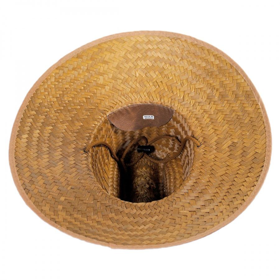 16e8615acf4 B2B Coconut Straw Lifeguard Hat in Natural · B2B Coconut Straw Lifeguard  Hat alternate view 3