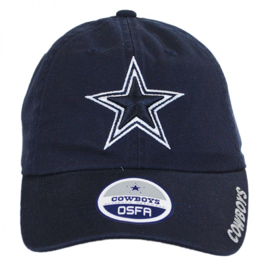 new style b4fa2 8c2d9 Dallas Cowboys NFL Slouch Strapback Baseball Cap Dad Hat in