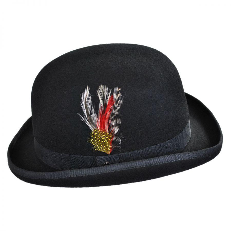 acfdf642afdc4 Jaxon Hats English Wool Felt Bowler Hat Derby   Bowler Hats