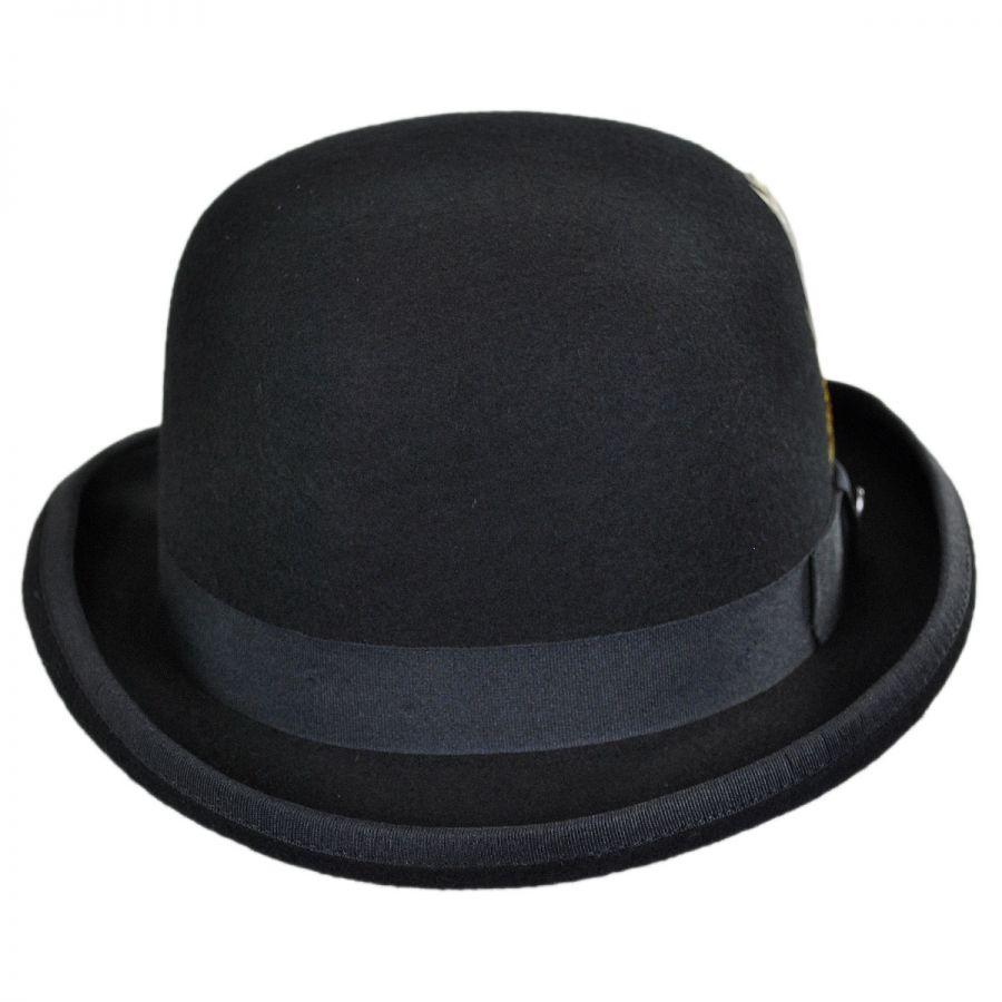 Jaxon Hats English Wool Felt Bowler Hat Derby   Bowler Hats e31f401b080