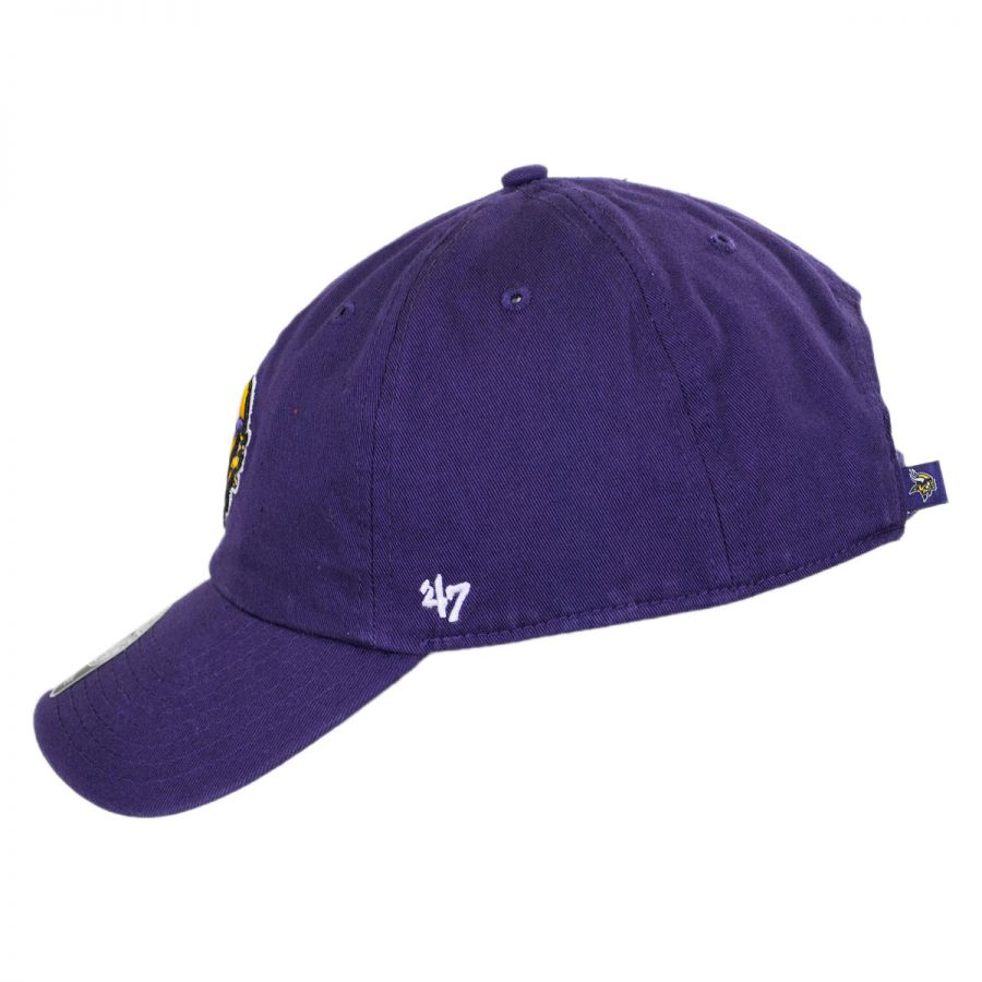 0884556b970a69 ... amazon minnesota vikings nfl clean up strapback baseball cap dad hat in  df32a 6a7c0