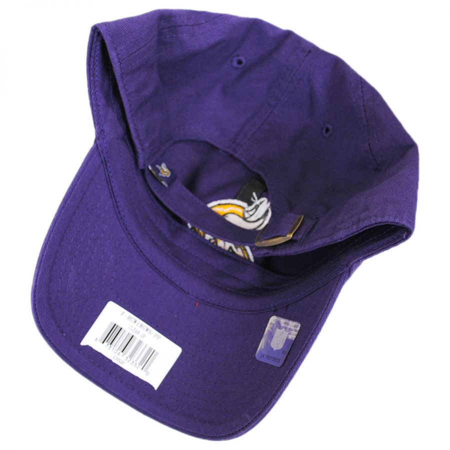 4f95a491a48558 ... amazon minnesota vikings nfl clean up strapback baseball cap dad hat in  ff439 876ba