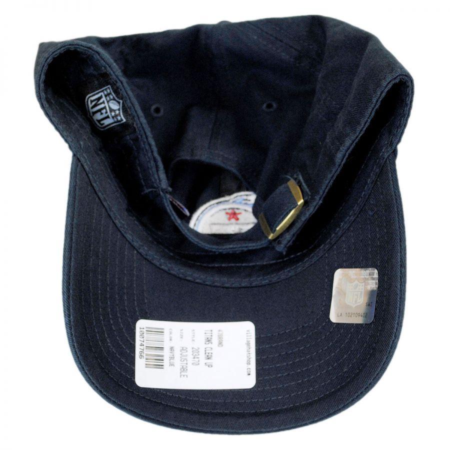 3f9f640c Tennessee Titans NFL Clean Up Strapback Baseball Cap Dad Hat