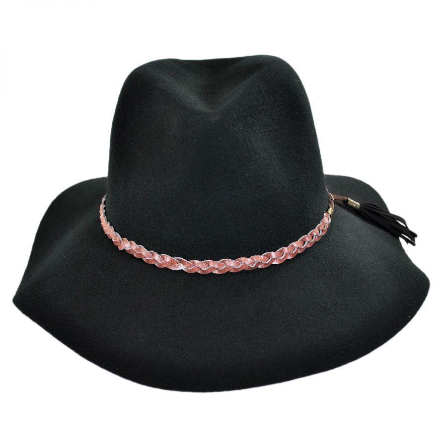e4f754a22b7 Brooklyn Hat Co Gemma Wool Felt Rancher Floppy Fedora Hat Fedoras