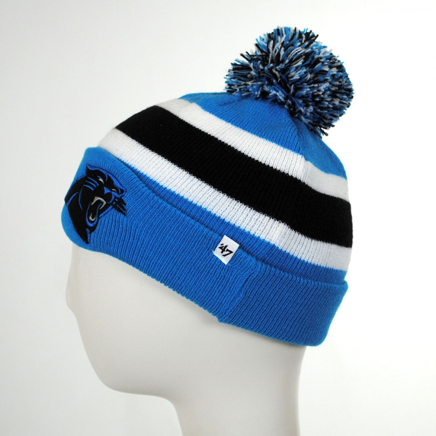 47 Brand Carolina Panthers NFL Breakaway Knit Beanie Hat NFL ... fca0fdfe2