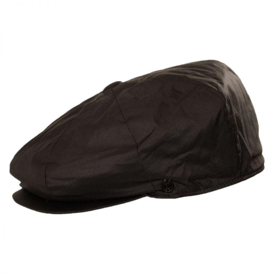 Jaxon Hats Waxed Cotton Newsboy Cap Newsboy Caps 4bf0dda3626