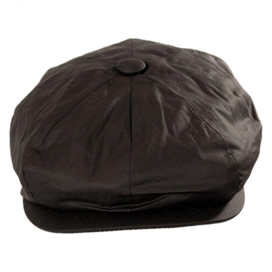 Jaxon Hats Waxed Cotton Newsboy Cap Newsboy Caps e1b3b379804