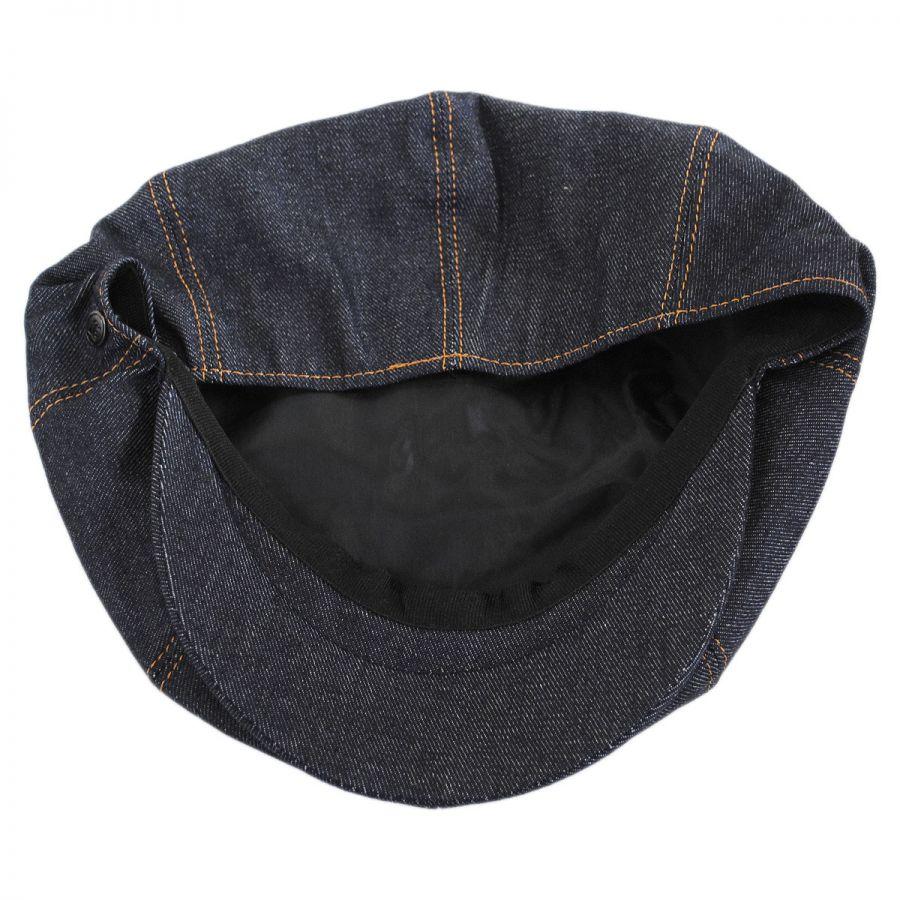 Jaxon Hats Denim Cotton Newsboy Cap Newsboy Caps fd9e9eb67