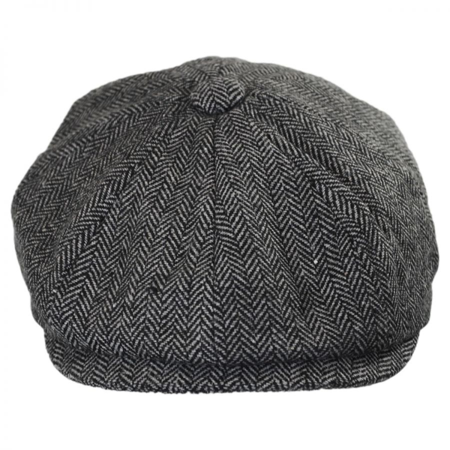 Jaxon Hats Kids  Herringbone Wool Blend Newsboy Cap Kids Flat Caps b3ff9e90354
