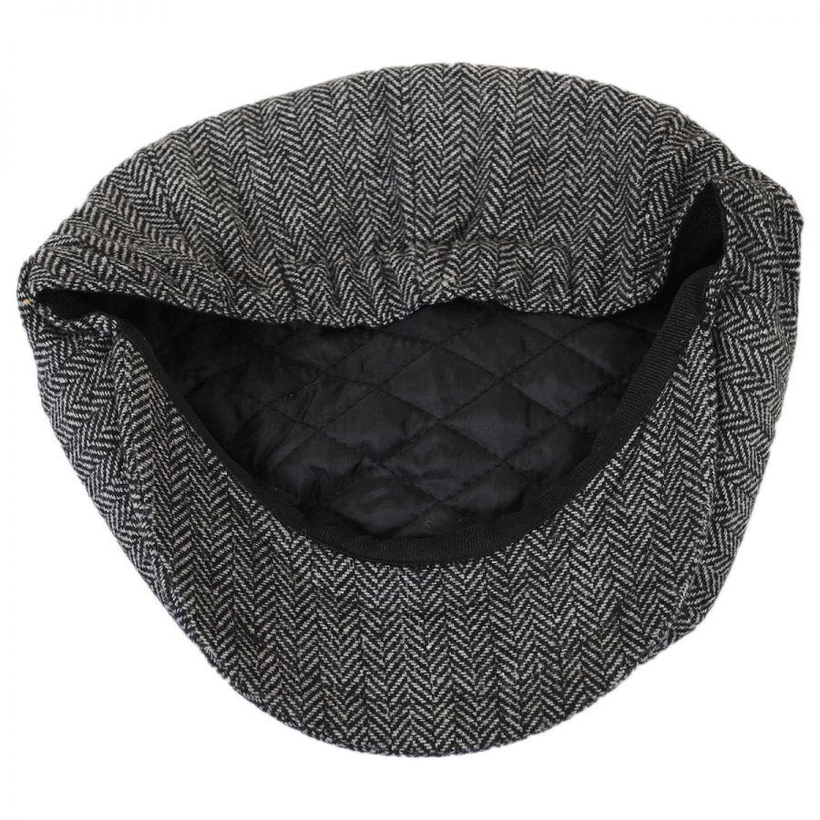 Jaxon Hats Kids  Herringbone Wool Blend Newsboy Cap Kids Flat Caps d5e7b3f139c