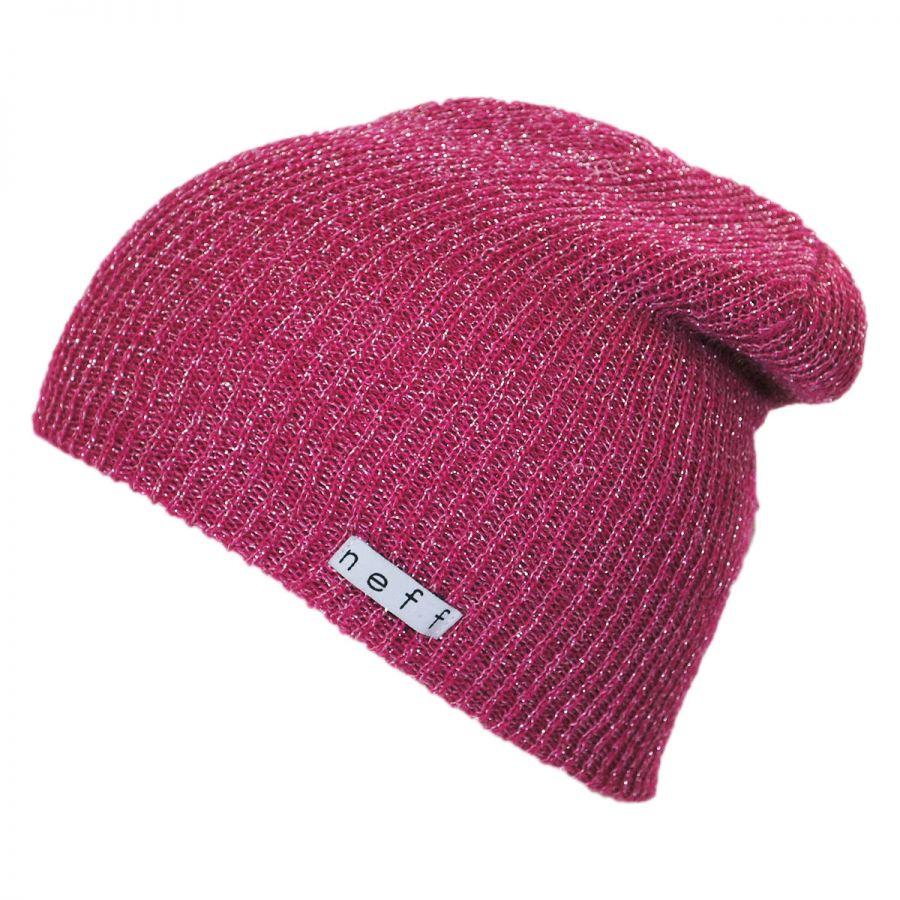 74307b20ce485 Neff Daily Sparkle Knit Beanie Hat Beanies