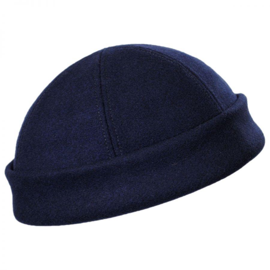 bd224b8d5 Six Panel Wool Skull Cap Beanie Hat