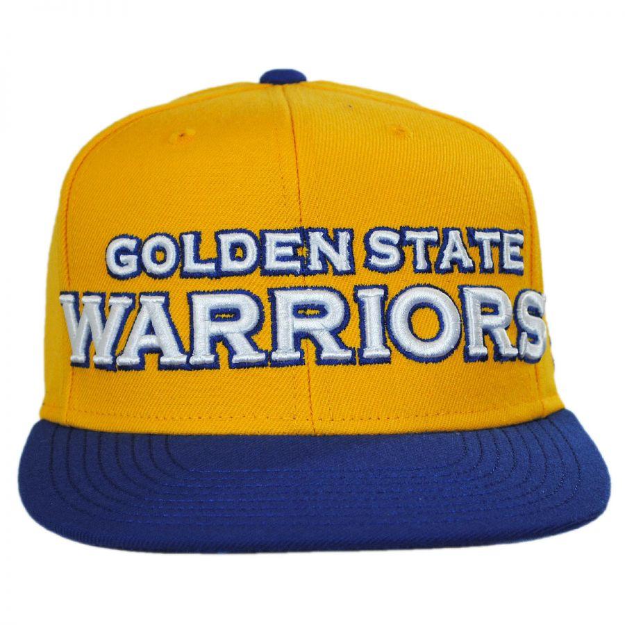 Golden State Warriors: Mitchell & Ness Golden State Warriors NBA Adidas On-Court