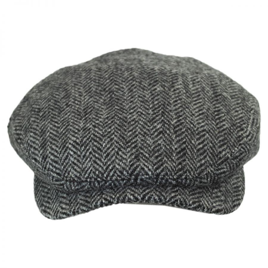 Wigens Caps Herringbone Harris Tweed Wool Ivy Cap Ivy Caps 73698e525b72