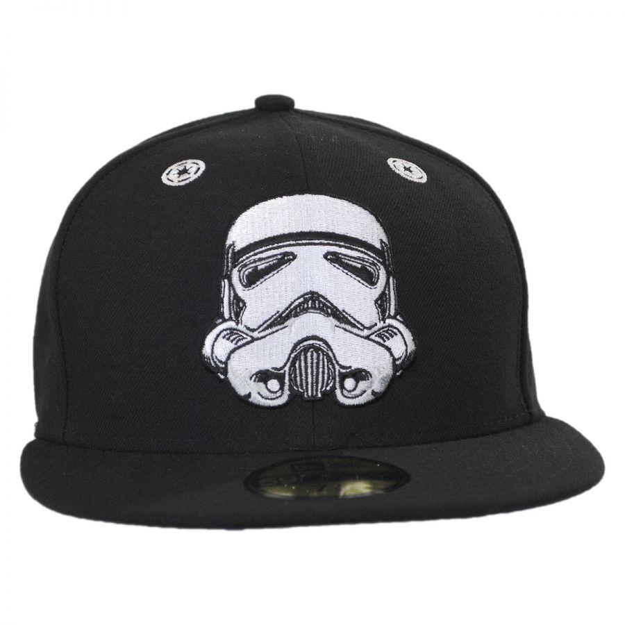 New Era Star Wars Storm Trooper Stargazer 59Fifty Fitted Baseball ... 8b113ba660c