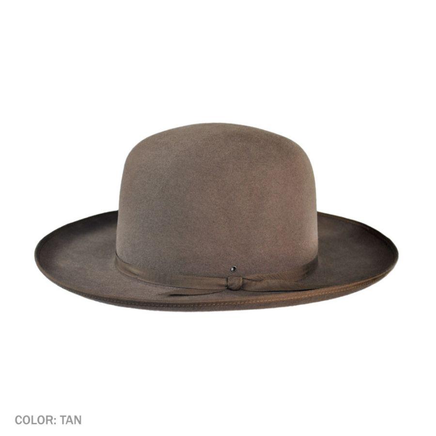 Akubra Bushman Fur Felt Open Crown Hat Western Hats 712fd4f40dd7