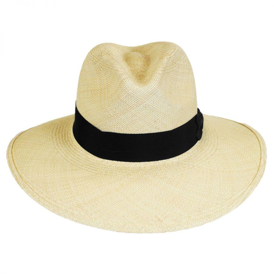 Stetson Destiny Panama Straw Wide Brim Fedora Hat Panama Hats 58f0ab706f