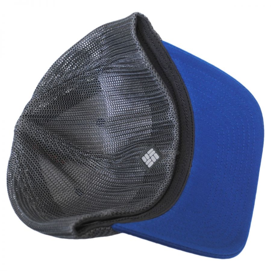 columbia sportswear mesh flexfit cap with mountains all baseball caps. Black Bedroom Furniture Sets. Home Design Ideas