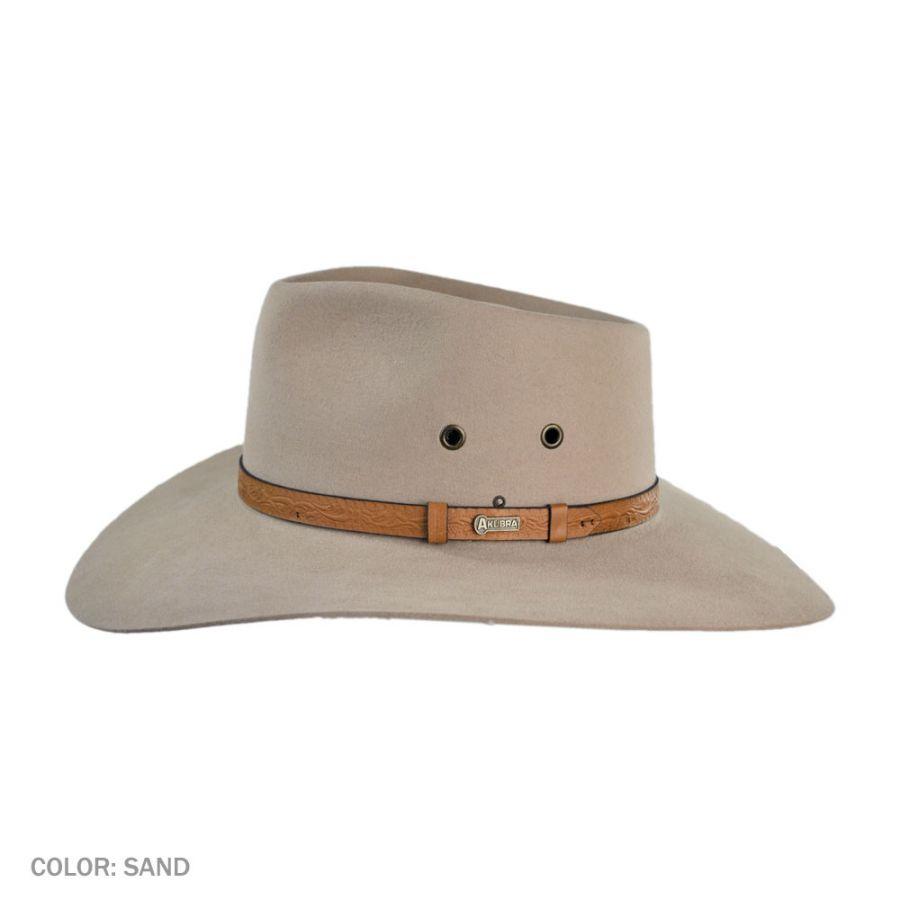 9f922b63f Territory Fur Felt Australian Western Hat