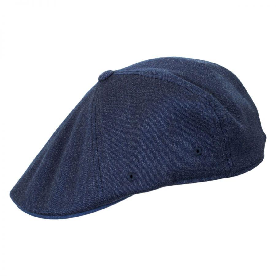 Flexfit Mens Classic Kangol Wool 504 Ivy Cap Color  Heather Blue