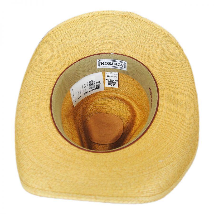 5641063c2fc0a1 Stetson Sawmill Palm Leaf Straw Western Hat Western Hats