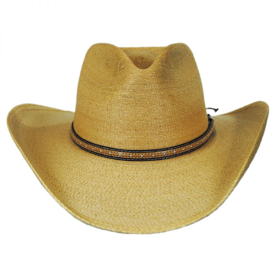Stetson Sawmill Palm Leaf Straw Western Hat Western Hats 80b9b4ce5fe
