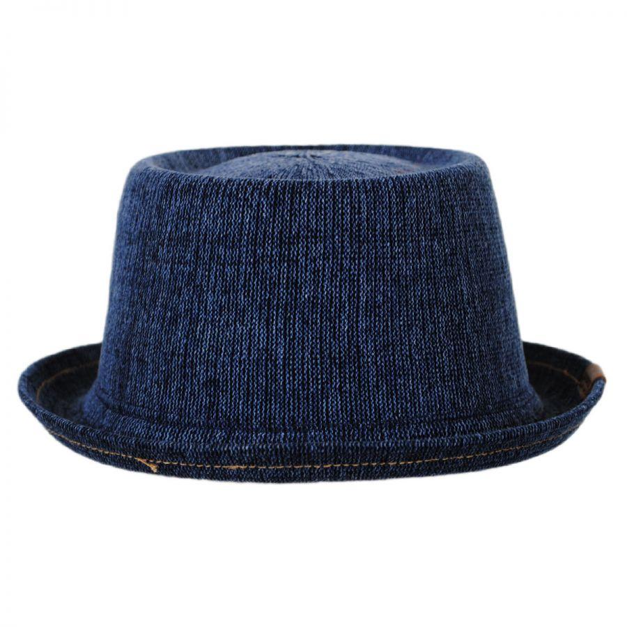 Kangol Denim Mowbray Pork Pie Hat Pork Pie Hats fc67c3b9890