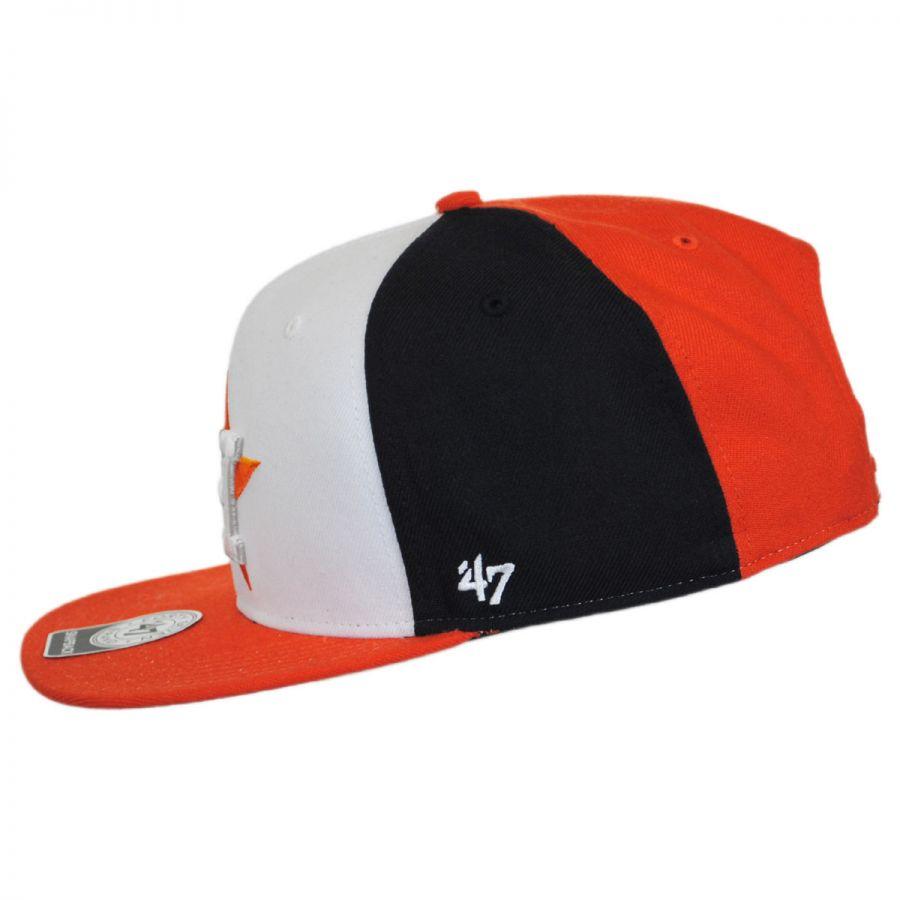 47 brand houston astros mlb amble snapback baseball cap