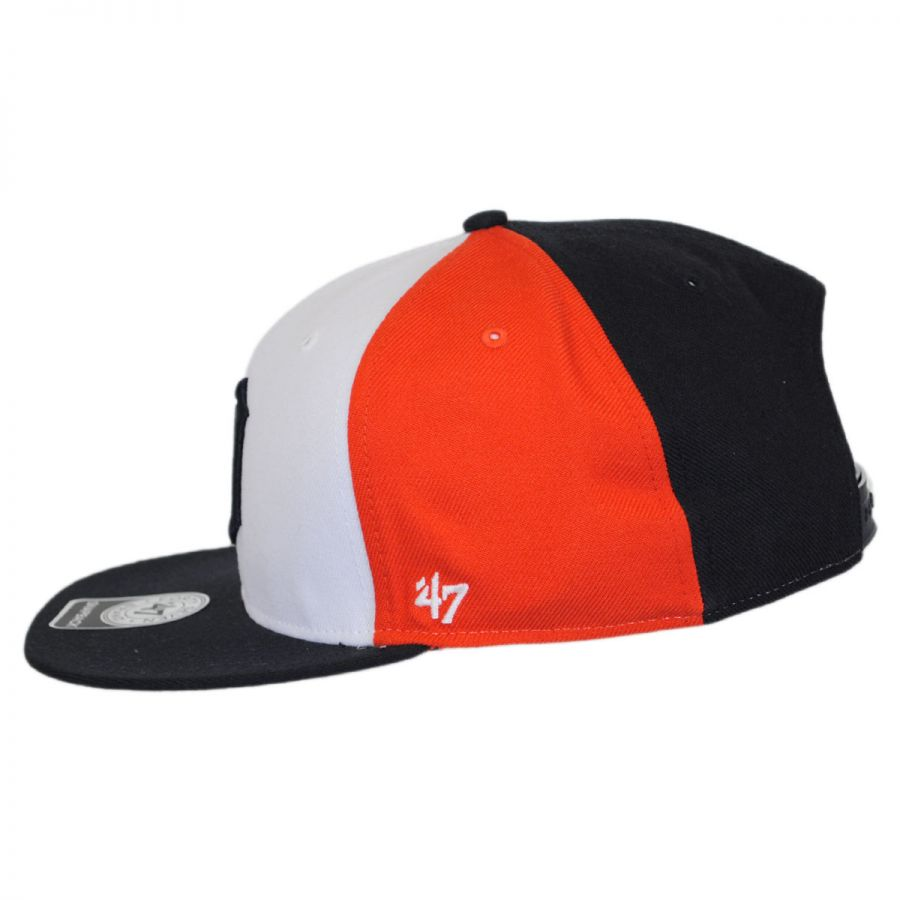 47 brand detroit tigers mlb amble snapback baseball cap