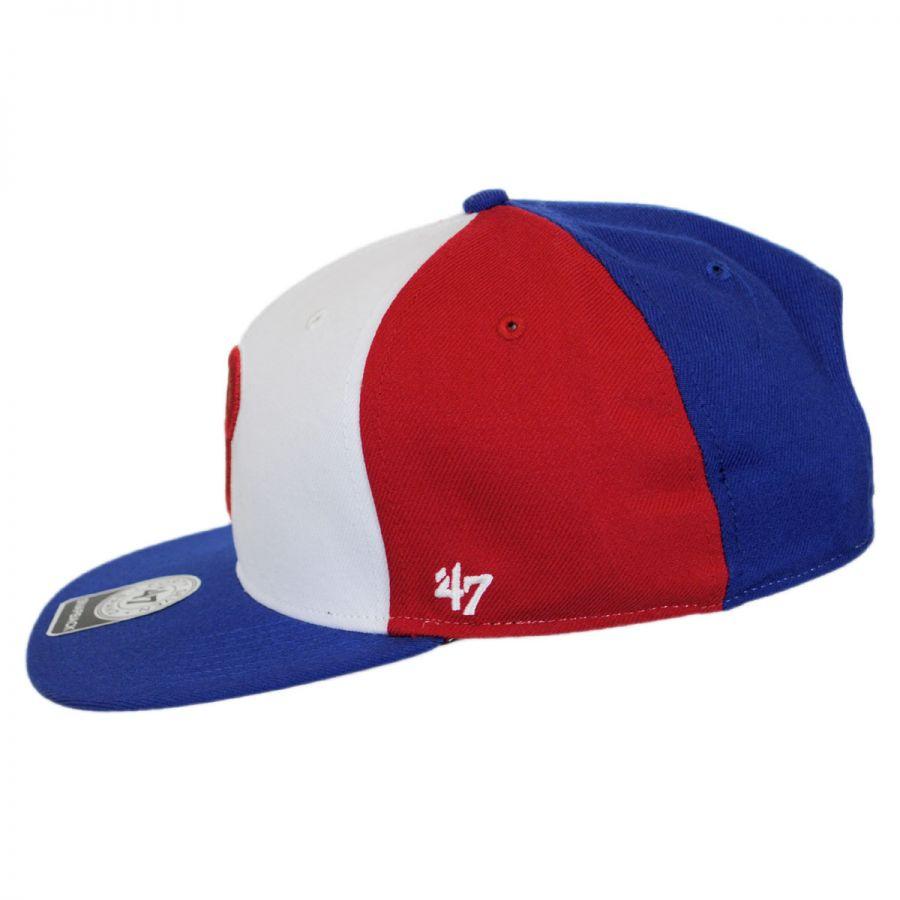 47 brand philadelphia phillies mlb amble snapback baseball