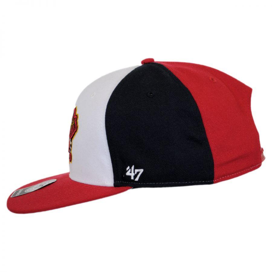 47 brand atlanta braves mlb amble snapback baseball cap