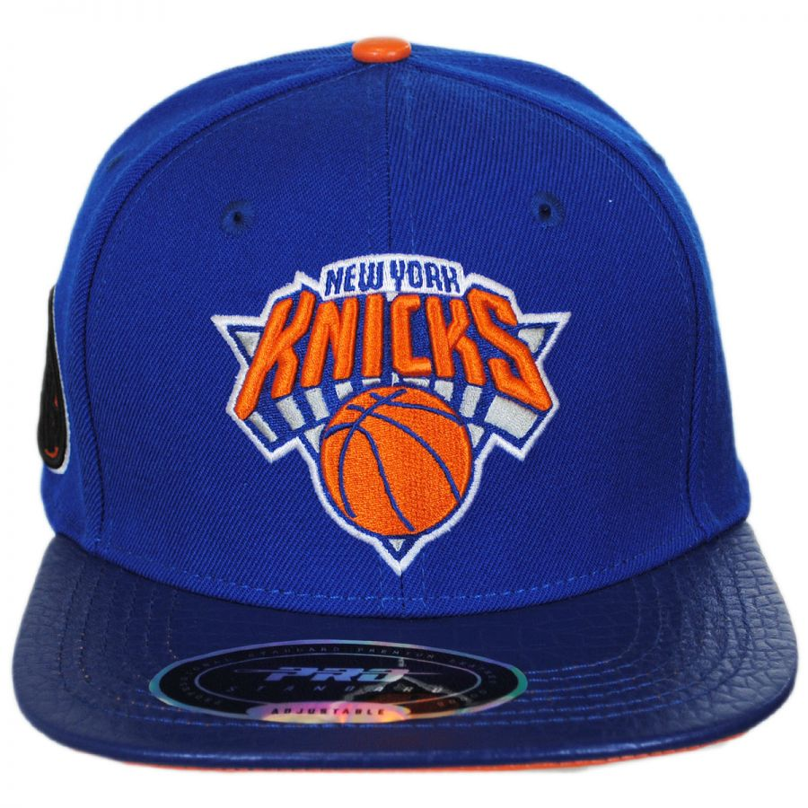 Nba Basketball New York Knicks: Pro-Standard New York Knicks NBA Gator Embossed Bill
