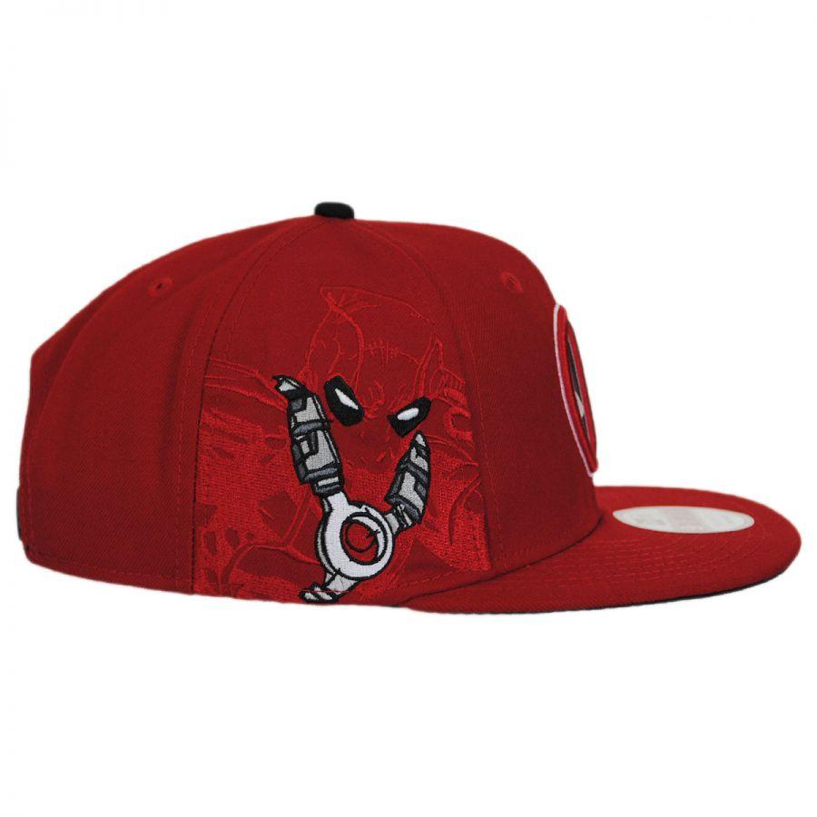 d9d7ece378b5f ... australia marvel comics deadpool sidecrest 9fifty snapback baseball cap  in 7f3b2 580a6