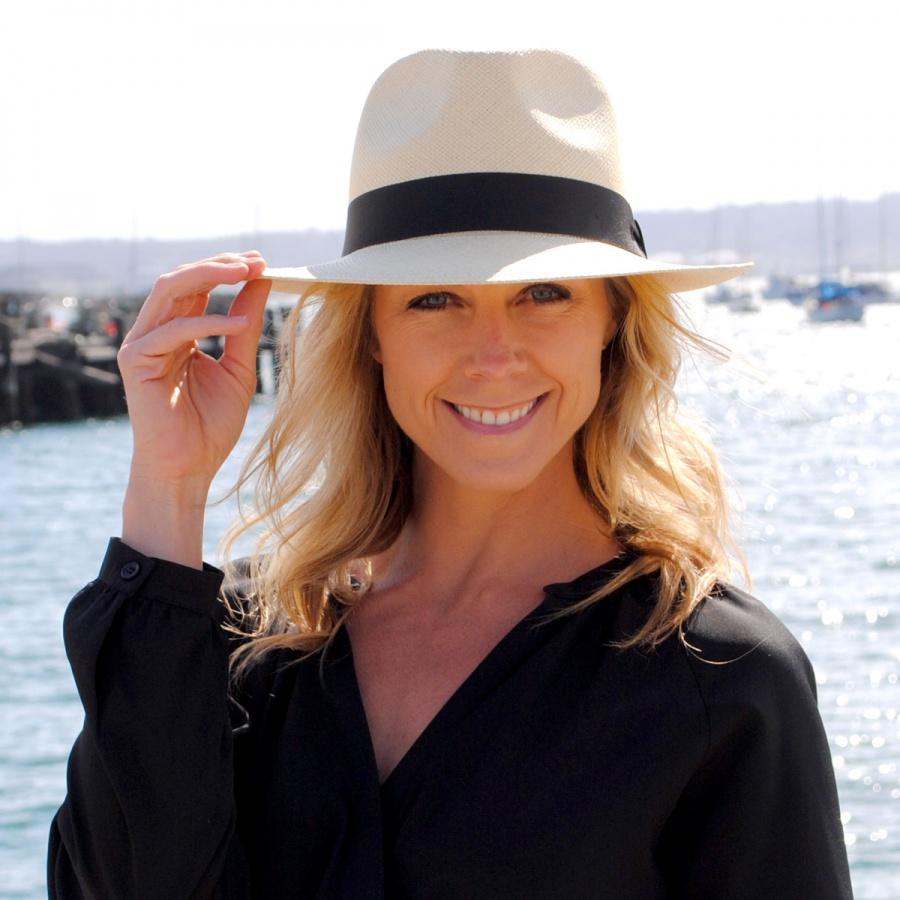 Jaxon Hats Panama Straw C-Crown Fedora Hat Panama Hats 8f99dde9d76