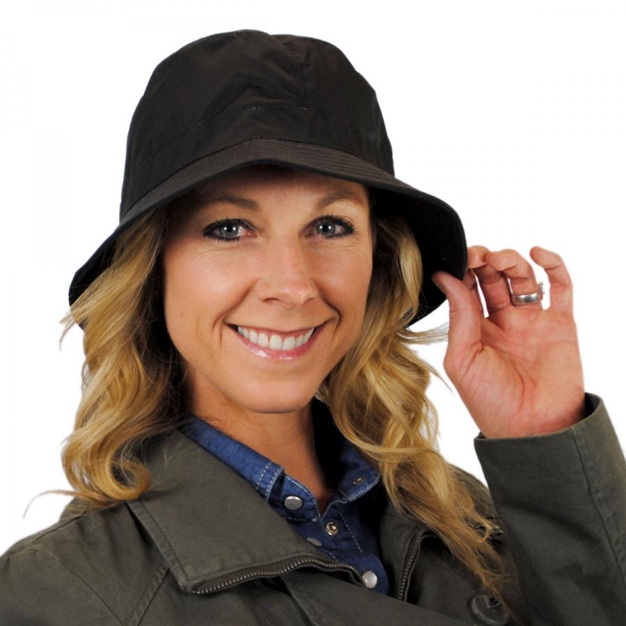 Nylon Rain Bucket Hat in · Nylon Rain Bucket Hat alternate view 3. sur la  tete bd90447697e6