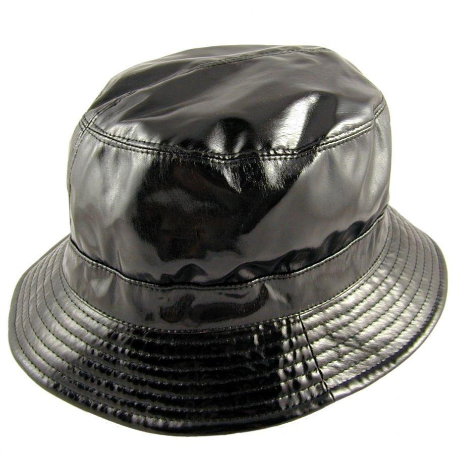 sur la tete Vinyl Rain Bucket Hat Rain Hats 48356bd9117