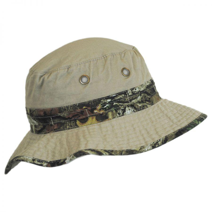 Mossy Oak Infinity Camo Cotton Bucket Hat Bucket Hats