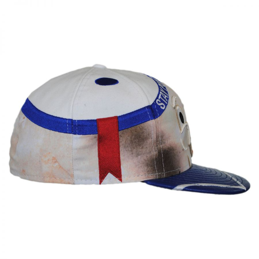 new era ghostbusters stay puft 59fifty fitted baseball cap. Black Bedroom Furniture Sets. Home Design Ideas